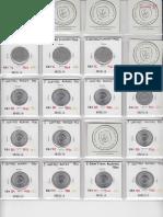 Catálogo Moedas de Argélia -Republica – Folhas 1 a 5