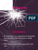 6 Expressions