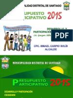 Desarrollo y Participación Ciudadana - Mds 2015