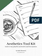 Aesthetics Tool Kit