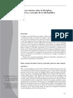 ALGUNAS VISIONES SOBRE LA DISCIPLINA,PRACTICA Y CONCEPTO DE LA SALUD PUBLICA.pdf