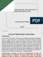 Conversor Digital a Analogo