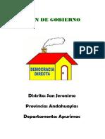 plan de desarrollo del distrito de san jerónimo-andahuaylas-apurimac