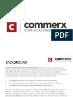 Presentacion commerx  2016