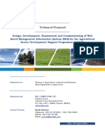Technical Proposal - Ministry of Agriculture MIS (DRAFT).docx