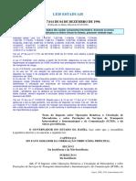 Icms Estadual- Lei Nº 7.014 de 04 de Dezembro de 1996