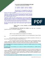 TAXAS - Lei estadual n° 11.631, de 30 de dezembro de 2009