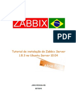 Tutorial de Instalacao Do Zabbix 1-8-3