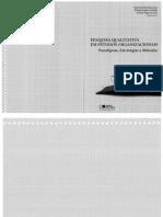 (Lourenço) Livro - Pesquisa Qualitativa Em Estudos Organizacionais (Capítulo 13)