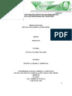 Tarea 2 - Realizar Análisis Crítico de Una Problemática Asociada Al Uso Inapropiado Del Territorio