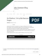 En Windows 7 de 64 Bits Funciona Visual Foxpro _ David Acuña Guzman Blog