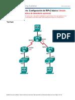 3.2.1.9 Lab - Configuring Basic RIPv2 - ILM