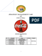 Strategic Management Case- Coca-Cola
