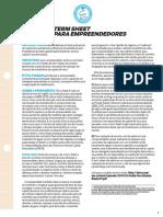 Term sheet para empreendedores.PDF