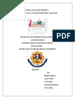 299945656 Industry Analysis Project Indigo