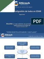 Caso de co-digestión en EDAR