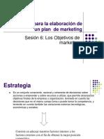 Examen Parcial - Los Objetivos Del Marketing