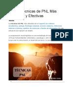 10 tecnicas de PNL
