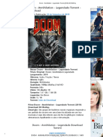Doom - Annihilation - Legendado Torrent (2019) HD BluRay