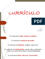 Teoria do Currículo