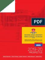 MBBS Prospectus 2019-20 (1)