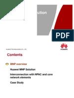 Huawei MNP Solution(2008!04!10)