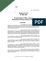 Resolución S.B.S. N° 2660-2015