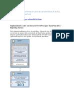 Implementación en Tres Servidores de PowerPivot Para SharePoint 2013