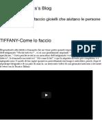 TIFFANY-Come Lo Faccio