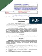 Acuerdo Gubernativo No. 843-92