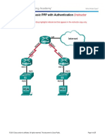 3.3.2.8 Lab - Configuring Basic PPP with Authentication - ILM.docx