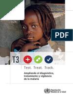 normas para tratamiento de pacientes con malaria