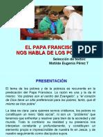 Presentación el Papa Francisco y los pobres