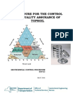 Geotechnical Control Procedure GCP-21b