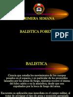 BALISTICA EXPOSICION CURSO TALLER - UTCUBAMBA 2014.ppt