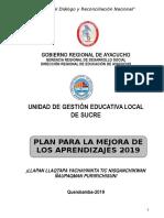Plan de Mejora 2019 REYNALDO