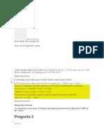Examen Unidad 1 Matematica Financiera