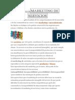 Definición Demarketing de Servicios