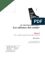 Klauer Alfonso - El Mundo Pre-Inca. Los Abismos Del Condor Tomo i