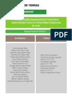 Primera Fiscalía Supraprovincial Corporativa Especializada Contra la Criminalidad Organizada de Lima