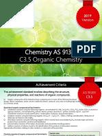 2019 c3.5 Organic Chemistry