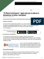 El iPhone X Está Muerto__ Apple Sufre Por La Caída en La Demanda Por Su Último 'Smartphone' - RT