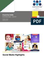 Cryoviva India SMO Report Mar 2017