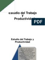 estudio del trabajo y productividad