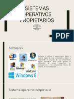 sistema operativos propietarios