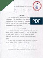 JIC Complaint Against Judge Henry Allred