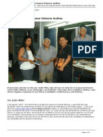 Servindi - Servicios de Comunicacion Intercultural - Wayra Katari y La Nueva Historia Andina - 2017-08-05