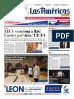 DIARIO LAS AMÉRICAS Edición digital del jueves 26 de septiembre de 2019
