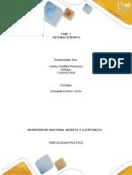 FASE 1 Reconocimiento Psicologia Politica