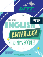 FIRTS EDITION ENGLISH ANTOLOGY